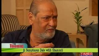 The Foodie - A Sumptuous Date with Shammi Kapoor!