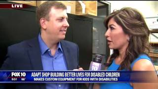Valley business makes custom furniture for kids with special needs