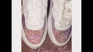 Swarovski Bling Crystal Nike Air Max 90 Sneakers