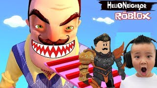ESCAPE Roblox Hello Neighbor Obby CKN Gaming