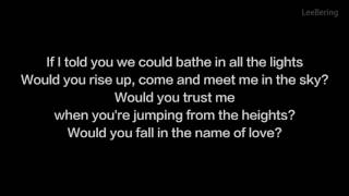 Martin Garrix   In The Name of Love Lyrics Video Cover ft