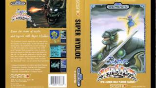 Super Hydlide - O.M.I.S.E. - Sega Genesis / Mega Drive