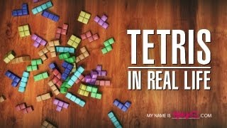 Tetris In Real Life