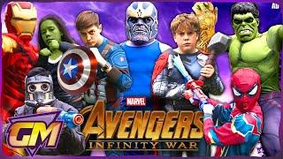 Avengers Infinity War - Fun Kids Parody