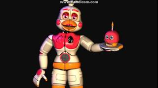 All Main FNaF Pizzeria Simulator Characters Sing The FNaF Song