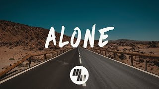 Feki - Alone (Lyrics) feat. Polarheart