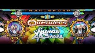 Tranceform 2017 *Outsiders & Ananda Shake* Happy new Year