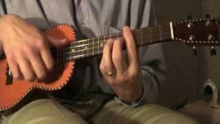 """La Foliage"" Variations on La Folia for ukulele with scenes of autumn trees"