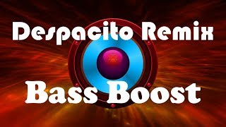 The Best Despacito Remix With Bass Boosted