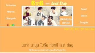 [THAISUB] BTOB - Last Day