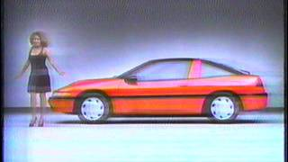 Tina Turner presents the 1990 Plymouth Laser