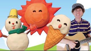 Seasons Song for Children   Learn Four Seasons   Preschool, Kindergarten, Learn English