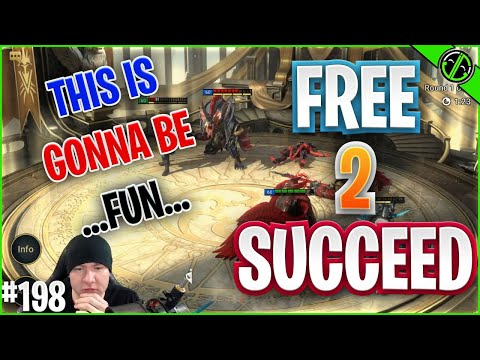 MIGHT AS WELL GRIND THIS ARENA EVENT | Free 2 Succeed - EPISODE 198