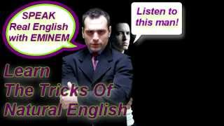 Learn english from rapper Eminem
