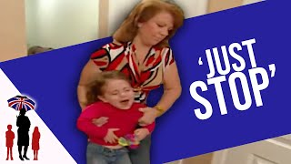 Tantruming Girl Pees On Floor To Annoy Mom | Supernanny