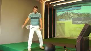 Pro Am Golf Academy 如何把雙手的速度 轉換給桿頭 彈射羽球拍