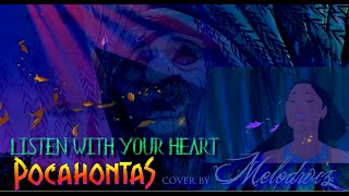 LISTEN WITH YOUR HEART | Pocahontas (Soprano COVER)