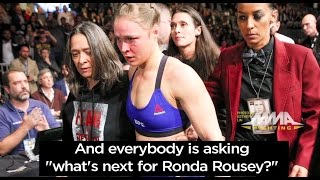 Ronda Rousey Vs. Amanda Nunes Video: What's Next For 'Rowdy' After UFC 207 Knockout Loss?