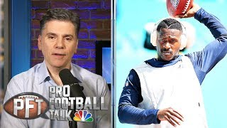 Antonio Brown released by Patriots, what happens next? | Pro Football Talk | NBC Sports