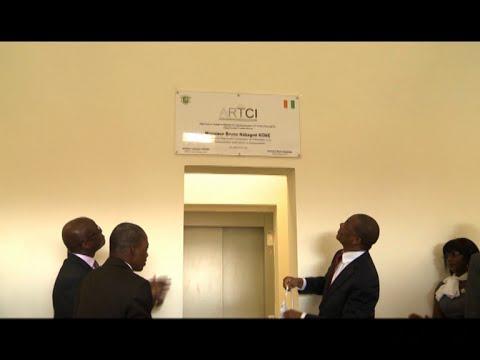 TIC : Inauguration du nouveau siège social de l'ARTCI par le ministre Bruno Koné
