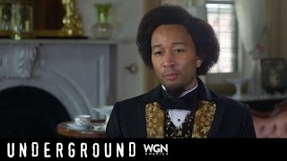 "WGN America's Underground ""John Legend as Fredrick Douglas"""