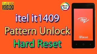 itel 1409 Hard Reset | itel Mobile Hard Reset | itel it1409 Pattern unlock