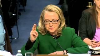 Hillary Clinton's Fiery Moment at Benghazi Hearing