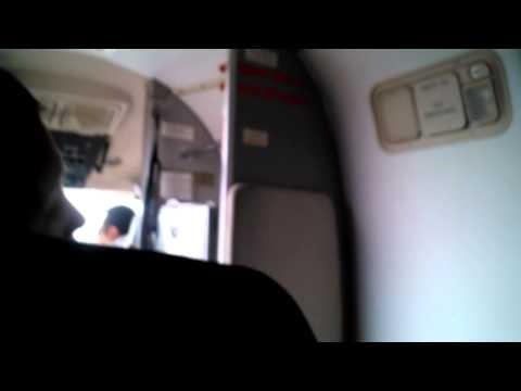 Buddha air flight in Nepal