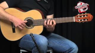 Miguel Angela MA-200 Klasik gitar tanıtımı