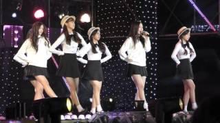 151006 APRIL (에이프릴) - Ruby (루비)/Fin.K.L (핑클)Cover/The Show野外公演