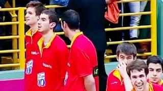 Gafe! Hino da Espanha é trocado pelo de Portugal em jogo de basquete contra o Brasil.
