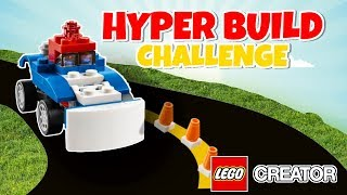 Lego Hyperbuild Challenge | Lego Creator 31085 b-model