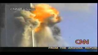 WTC 9/11 2nd Plane Impact In South Tower - WTC 9/11 Impacto do Segundo Avião na Torre Sul