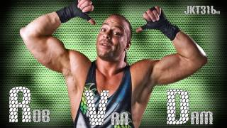 Rob Van Dam WWE Theme -''One Of A Kind'' (HQ Arena Effects) + DL