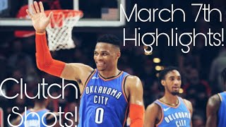 "Russell Westbrook- ""Uh Huh!"" March 7th Mix."