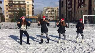 Коледа е...с коледен танц