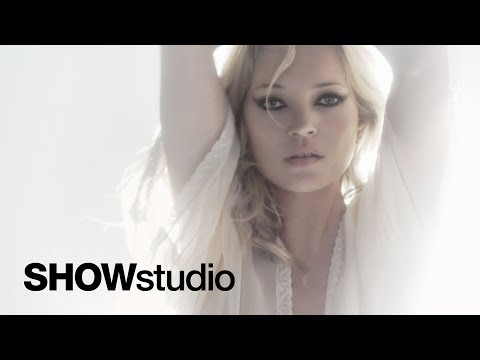 Kate Moss presented by SHOWstudio