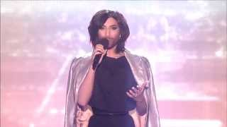 Conchita - You Are Unstoppable / Firestorm - live at the ESC Eurovision Song Contest 2015 Austria