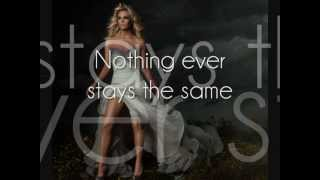Carrie Underwood - Forever Changed [Lyrics On Screen]