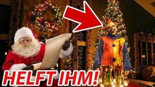 Clown greift Weihnachtsmann an! [Interaktives Video]