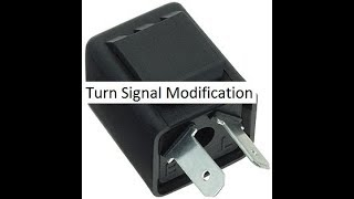 Ebike turn signal Modification(no beep)