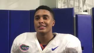 Gators cornerback Quincy Wilson looks ahead to LSU
