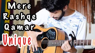 Mere Rashke Qamar Song Baadshaho | New ELECTRO Heartbeat On Guitar | ACPAD COVER  Amaan Shah  Video