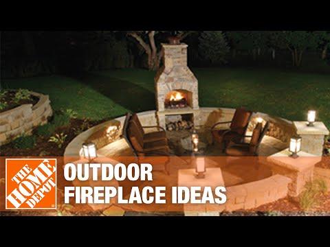 A video highlighting outdoor fireplace ideas.