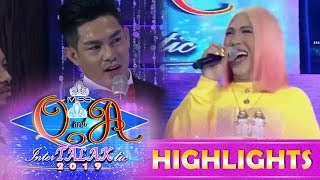 It's Showtime Miss Q and A: Vice Ganda teaches Ion how to properly say 'orange'
