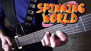 "Naruto Shippuden Ending 32 - Diana Garnet ""Spinning World"" ~Guitar cover~"