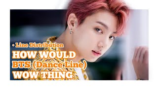 "How Would #BTS (Dance Line) Sing ""WOW THING"" by SM Station [Line Distribution]"