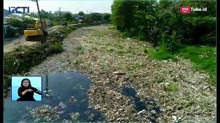 Lautan Sampah Penuhi Sepanjang Kali Pisangan di Bekasi - SIS 08/01