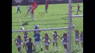 Cruz Azul vs Chivas (conejo  celeste rokero)