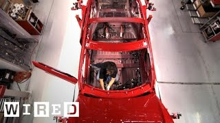 How Tesla Builds Electric Cars | Tesla Motors Part 2 (WIRED) width=